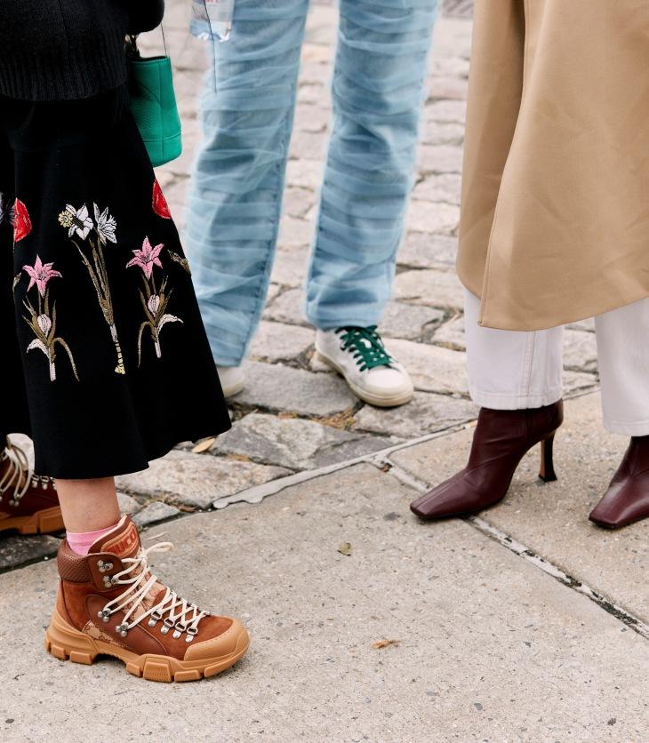 mode street style schoenen